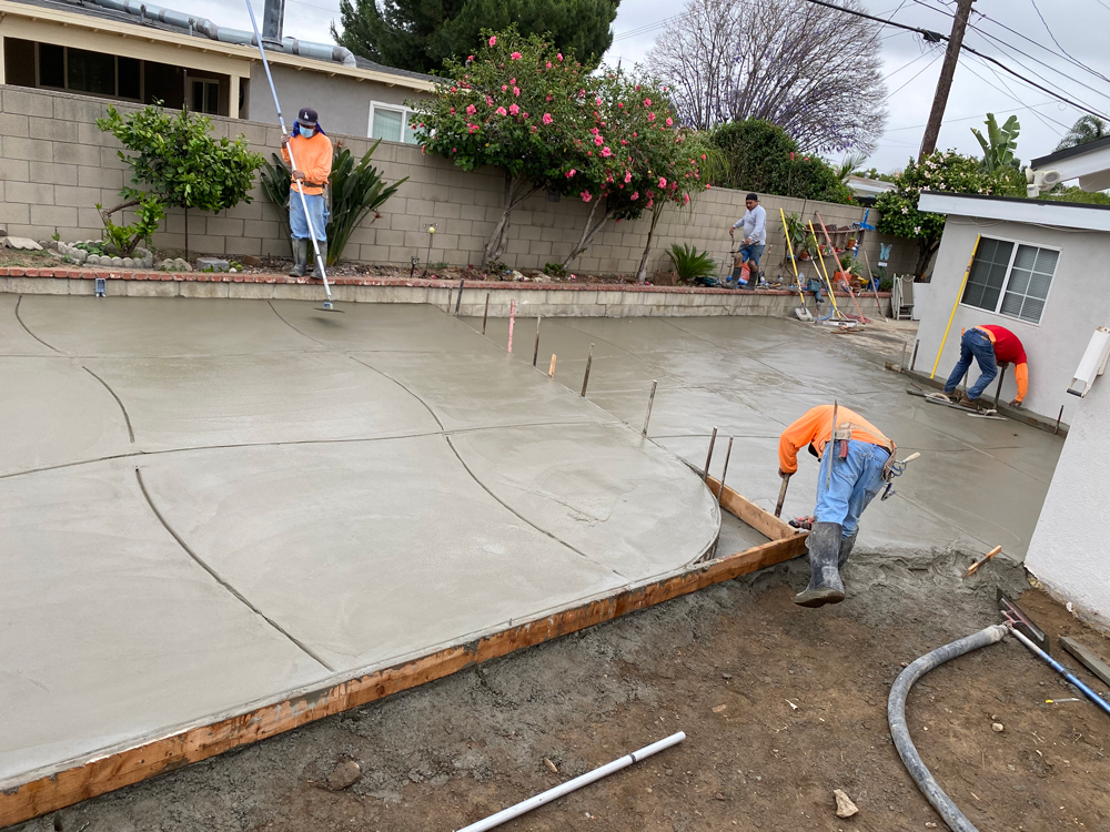 Our Concrete Finishers
