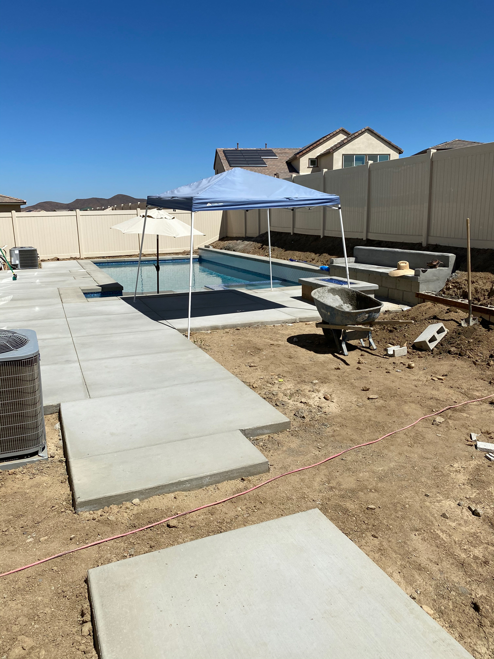 Custom Pool with Decking